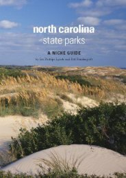 North Carolina State Parks: A Niche Guide (Ida Phillips Lynch)