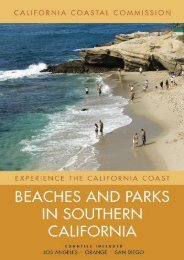 Beaches and Parks in Southern California: Counties Included: Los Angeles, Orange, San Diego (Experience the California Coast) (California Coastal Commis)