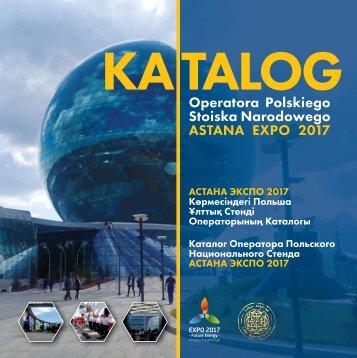 KATALOG Polskiego Operatora Expo Astana 2017 (210 x 210) (2017-08) strona po stronie