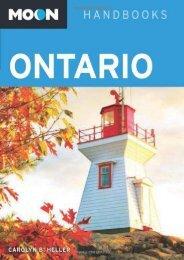 Moon Ontario (Moon Handbooks) (Carolyn B. Heller)
