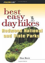 Best Easy Day Hikes Redwood National and State Parks (Best Easy Day Hikes Series) (Daniel Brett)