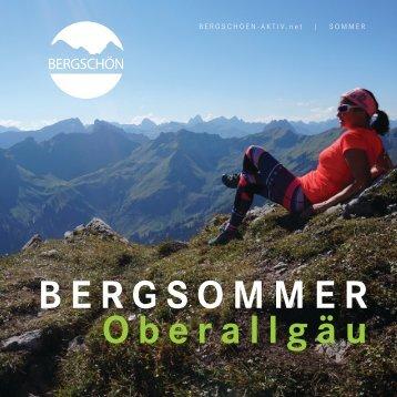 Bergschön Aktiv Sommer 2017