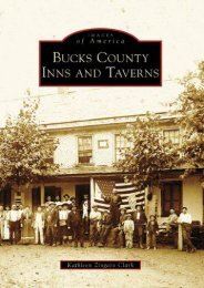 Bucks County Inns and Taverns (Images of America: Pennsylvania)