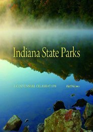 Indiana State Parks: A Centennial Celebration (Indiana Natural Science)