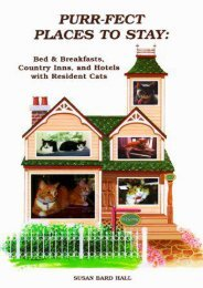 Purr-fect Places to Stay: Bed   Breakfasts, Country Inns, and Hotels with Resident Cats