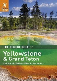 The Rough Guide to Yellowstone   Grand Teton