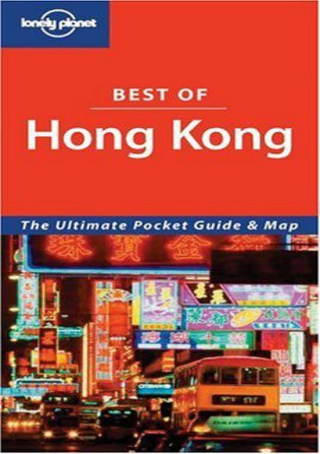Lonely Planet Best of Hong Kong (Lonely Planet Hong Kong Encounter)