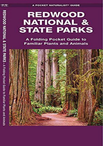 Redwood National   State Parks: A Folding Pocket Guide to Familiar Plants and Animals (A Pocket Naturalist Guide)