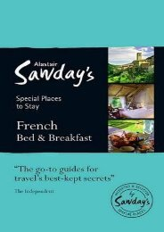 Special Places to Stay: French Bed   Breakfast