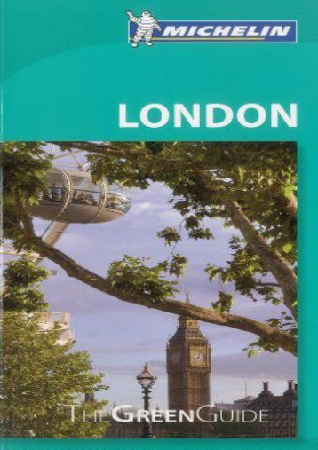 Michelin Green Guide London (Green Guide/Michelin)