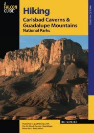 Hiking Carlsbad Caverns   Guadalupe Mountains National Parks (Regional Hiking Series)