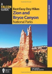 Best Easy Day Hikes Zion and Bryce Canyon National Parks (Best Easy Day Hikes Series)