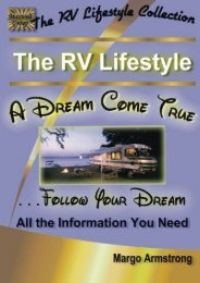The RV Lifestyle: A Dream Come True: The Adventure Of A Lifetime (The RV Lifestyle Collection)