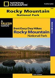 Best Easy Day Hiking Guide and Trail Map Bundle: Rocky Mountain National Park (Best Easy Day Hikes Series)