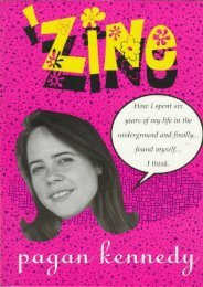 Zine: How I Spent Six Years of My Life in the Underground and Finally...Found Myself...I Think