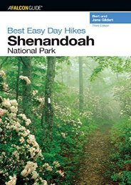 Best Easy Day Hikes Shenandoah National Park, 3rd (Best Easy Day Hikes Series)
