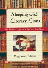 Sleeping with Literary Lions: The Booklover s Guide to Bed and Breakfasts