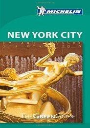 Michelin Green Guide New York City (Green Guide/Michelin)
