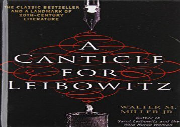 a canticle for leibowitz summary