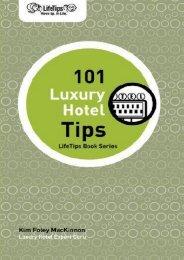 LifeTips 101 Luxury Hotel Tips