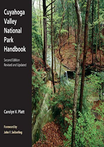 Cuyahoga Valley National Park Handbook: Revised and Updated