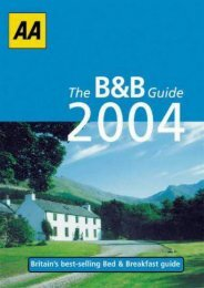 AA the B b Guide (AA Lifestyle Guides)
