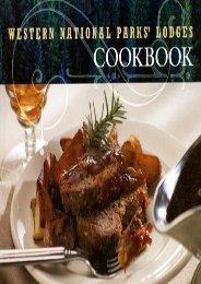 Western National Parks  Lodges Cookbook