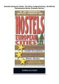 Hostels European Cities: The Only Comprehensive, Unofficial, Opinionated Guide (Hostels Series) - Page 2