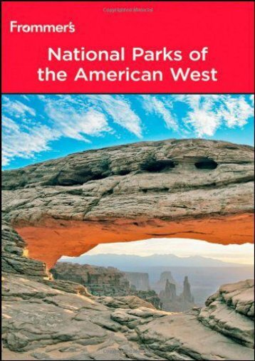 Frommer s? National Parks of the American West (Park Guides)