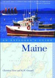 Maine: An Explorer s Guide, Eleventh Edition