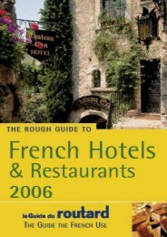 The Rough Guide to French Hotels   Restaurants 8 (Rough Guide Travel Guides)