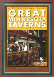 Great Minnesota Taverns (Trails Books Guide)