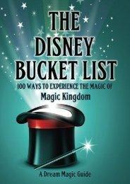The Disney Bucket List: 100 ways to experience the magic of Magic Kingdom