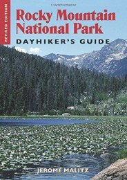Rocky Mountain National Park Dayhiker s Guide