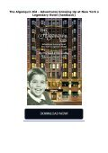The Algonquin Kid - Adventures Growing Up at New York s Legendary Hotel (hardback) - Page 2