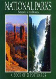 National Parks: A Book of 21 Postcards