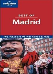 Lonely Planet Best of Madrid (Lonely Planet Madrid Encounter)