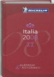 Michelin Guide Italia (Michelin Red Guide Italia (Italy): Hotels   Restaurants (Italian)) (Italian Edition)