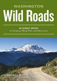 Wild Roads Washington: 80 Scenic Drives to Camping, Hiking Trails, and Adventures