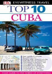 Cuba (Eyewitness Top 10 Travel Guides)