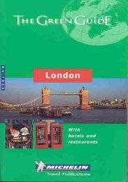 Michelin the Green Guide London (Michelin Green Guides)