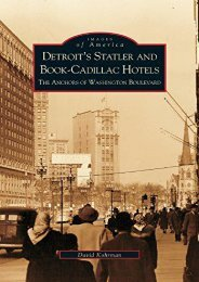 Detroit s Statler and Book-Cadillac Hotels: The Anchors of Washington Boulevard