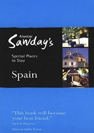 Special Places to Stay: Spain, 8th