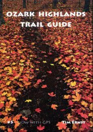 Ozark Highlands Trail Guide