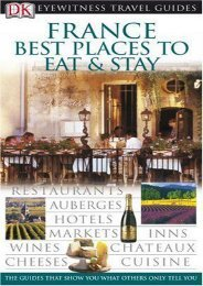 France: Best Places to Stay and Eat (EYEWITNESS TRAVEL GUIDE)