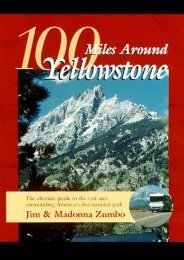 100 Miles Around Yellowstone: The Ultimate Guide to the Vast Area Surrounding America s First National Park
