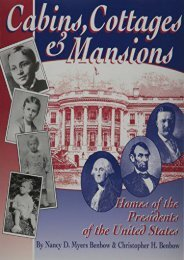Cabins, Cottages   Mansions: Homes of the Presidents of the United States