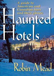 Haunted Hotels: A Guide to American and Canadian Inns and Their Ghosts