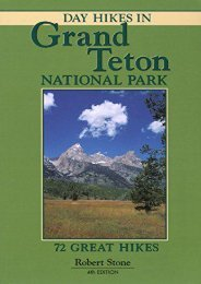 Day Hikes in Grand Teton National Park, 4th