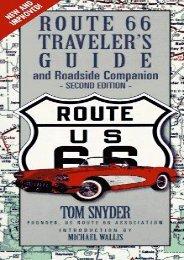 Route 66 Traveler s Guide   Roadside Companion (Route 66 Traveler s Guide and Roadside Companion)